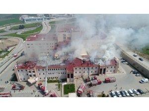 Hastanedeki yangının çıkış sebebi klimalar