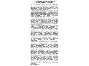 """Caner Erkin'den Asena Atalay açıklaması: """"Hayali iddialar"""""""