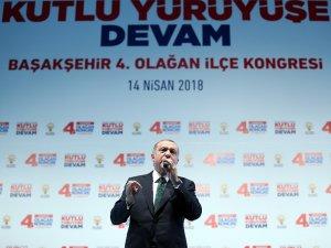 """Cumhurbaşkanı Erdoğan: """"Paralel devletle gitmek isteyenler buyursun  gitsinler, bilet paralarını da veririz"""""""