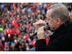 """Cumhurbaşkanı Erdoğan: """"İstanbul'un eski hali bilindiği halde güzelim Avcılar'ı nasıl CHP'ye teslim ediyorsunuz"""""""