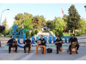 Adıyaman Sanat Sokağında İran ezgileri seslendirildi