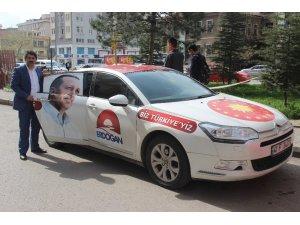 Cumhurbaşkanı Erdoğan'a destek için Türkiye turuna çıktı