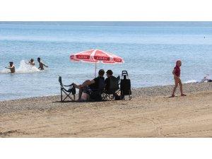 Marmaris'te deniz sezonu açıldı