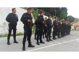 Polis adayları zorlu eğitim sürecinden geçiyor