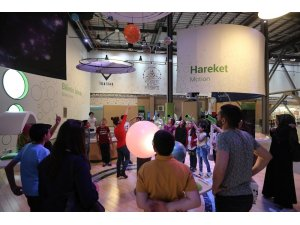 Bilim Merkezi'nin hafta sonu beş ayrı ilden 409 öğrenci ziyaret etti