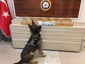 Van'da 11 kilo 130 gram eroin ele geçirildi