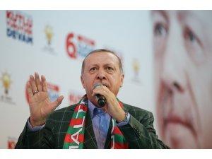 """Cumhurbaşkanı Erdoğan: """"İsteseler de istemeseler de Kanal İstanbul'u yapacağız"""""""