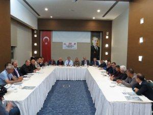 KGF Başkanlar Kurulu Çorum'da toplandı