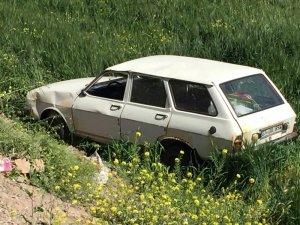 Kilis'te otomobil şarampole uçtu: 4 yaralı