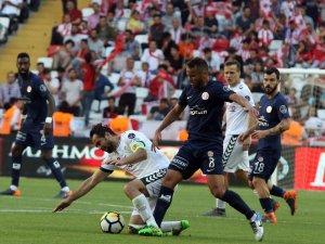 Spor Toto Süper Lig: Antalyaspor: 0 - Atiker Konyaspor: 0 (Maç sonucu)