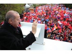 """Cumhurbaşkanı Erdoğan: """"Afrin harekatında 4 bin 187 terörist etkisiz hale getirildi"""""""