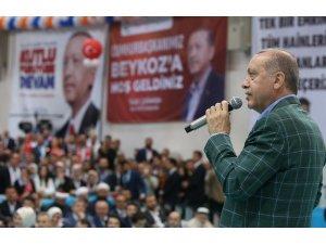 """Cumhurbaşkanı Erdoğan: """"Biz bugünlere manşetlerle çarpışa çarpışa geldik"""""""