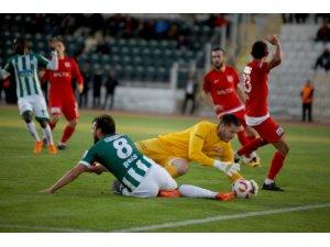 Spor Toto 1. Lig: Akın Çorap Giresunspor: 1 - Balıkesirspor Baltok: 0