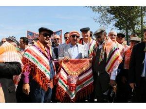 Burdur'da Yörük göçü canlandırıldı