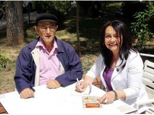 Fatma Yazıcı ilk şiir kitabını yayınladı