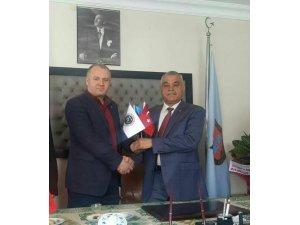 Asimder Başkanı, Başkan Karadağ'ı ziyaret etti