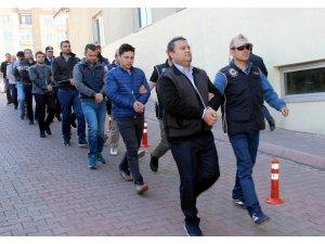 Kayseri'de FETÖ operasyonu: 12 kişi adliyeye sevk edildi