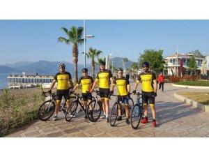 Sökeli Bisikletçilerden Maramaris'ten başarı ile döndü