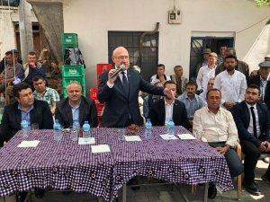 Cumhurbaşkanı Başdanışmanı Şener'den Milas'ta ziyaretler
