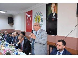 Başkan Albayrak, Malkara ve Köyleri Derneği üyeleriyle bir araya geldi