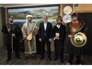 İl Kültür ve Turizm Müdürlüğü'nden Başkan Memiş'e ziyaret
