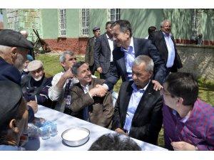 Başkan Ataç yağmur duasına katıldı