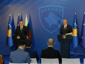 """Bulgaristan Başbakanı Borisov'dan Kosova ve Sırbistan'a """"sorunlarınızı çözün"""" çağrısı"""