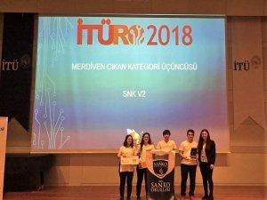 Sanko öğrencileri İTÜRO'dan iki Türkiye üçüncülüğü ile eve döndü