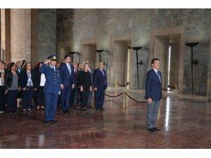 CHP Ortaca Ata'nın huzurunda