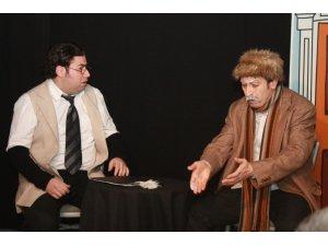 Tokat'ta 'ekmek arası' tiyatro