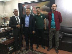 TTF Başkanı Durmuş'tan AGC'ye ziyaret