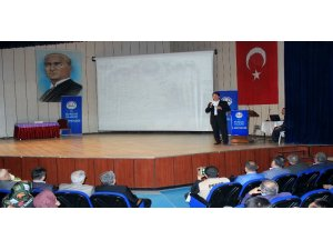 "Burdur'da ""Kudüs ve Mescid-i Aksa"" konferansı"