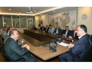 Balalılardan Başkan Taşdelen'e ziyaret