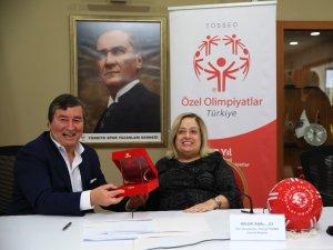 Özel Olimpiyatlar Türkiye ile Türkiye Spor Yazarları Derneği'nden anlamlı işbirliği