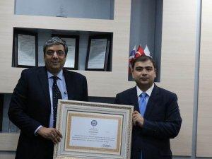 Kaymakam Kızıltoprak'tan, İndorama'ya takdir belgesi