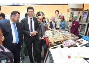 "Elazığ'da ""KYK Kültür Sanat Sokağı"" sergisi"