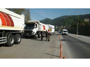 """Zonguldak'ta """"Trafik Uygulaması 1"""""""