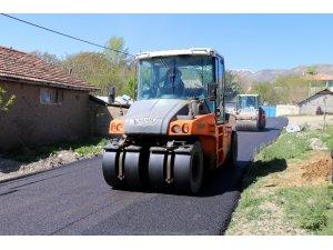 Özel İdare asfalt sezonuna hızlı başladı