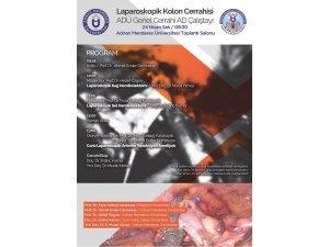 Aydın'da Laparoskopik Kolon Cerrahisi Çalıştayı yapılacak