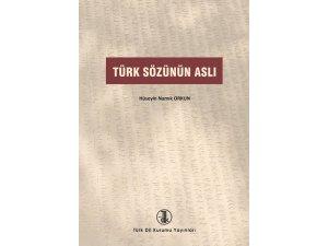 """""""Türk Sözünün Aslı"""" kitabına 3. baskı"""