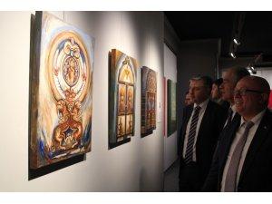 MEDAŞ Sanat Galerisinde karma resim sergisi açıldı