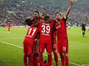 Almanya Kupası'nda Eintracht Frankfurt finalde