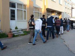 Derbideki olaylara ilişkin gözaltına alınan 25 kişi adliyede