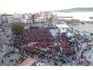 Troya Yılında, 1. Uluslararası Troya Çocuk Halk Dansları Festivali fırtınası esti