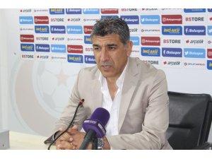 Boluspor- Gazişehir Gaziantep maçının ardından