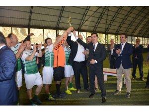 Kaymakamlık kupasının şampiyonu Esnafspor oldu