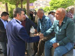 Başkan Altınsoy vatandaşlarla görüştü