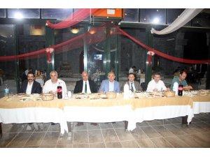 Orman İşletme Müdürü Karadağ'a veda yemeği