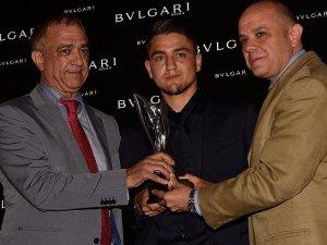 Cengiz Ünder'e 'En Başarılı Genç Yabancı Oyuncu' ödülü