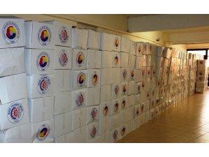 Nizip'te 925 aileye ramazan yardımı